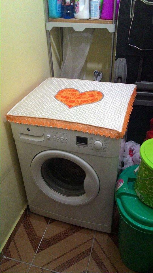 Çamaşır makinesi örtüsü modern