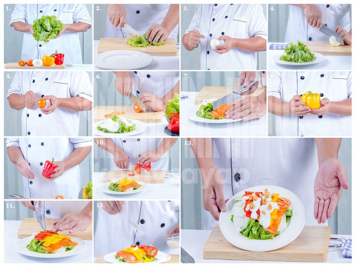 Sağlıklı-bir-salata-yapılışı-