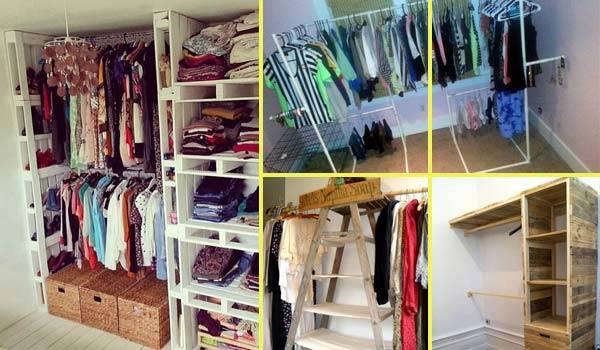 Düşük Maliyetli 10 Giysi Depolama Fikri