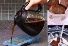 1- Kahveyi buz kalıplarında dondurup sütün içine atabilirsiniz.
