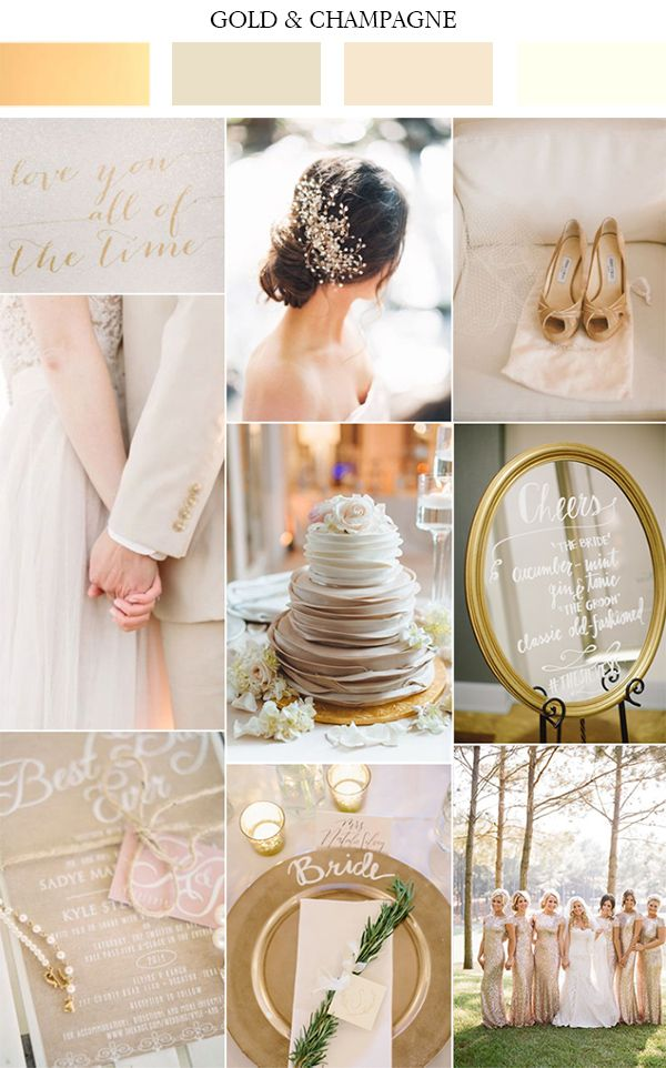 2017 Düğün Renk Paletleri ilk 10 Listesi