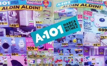 A101 Marketleri Aktüel Ürün Kataloğu 21 Aralık 2017