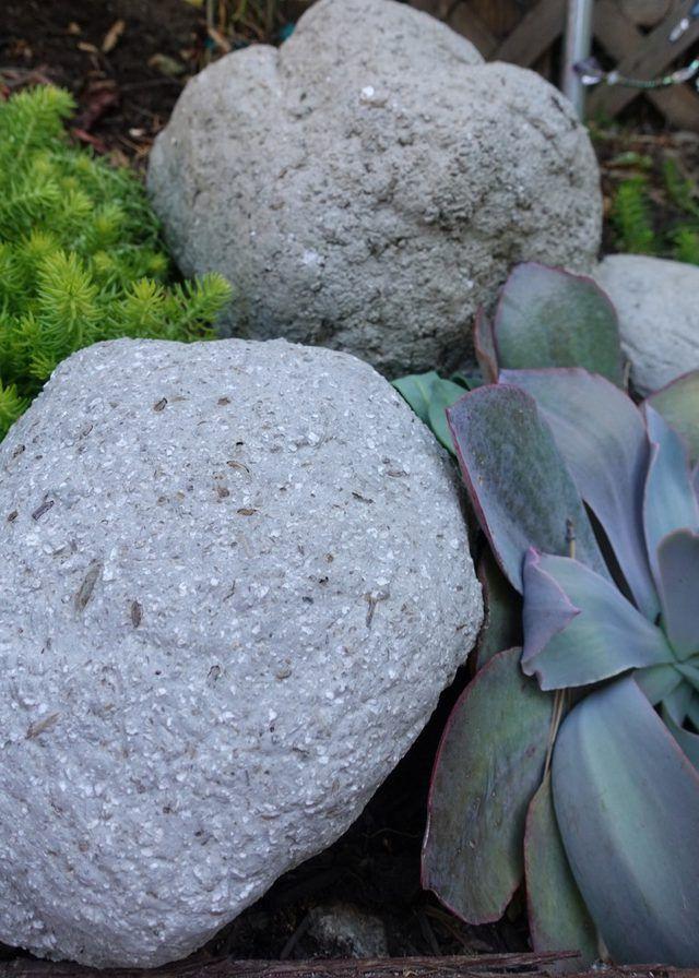 Bahçenize Dekoratif Taşlar Yapın