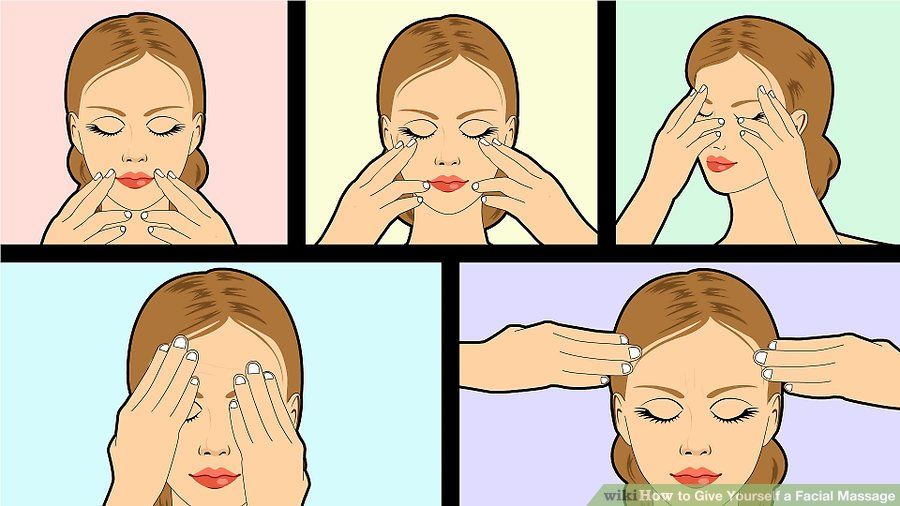 Kendi kendinize yüz masajı nasıl yapılır?