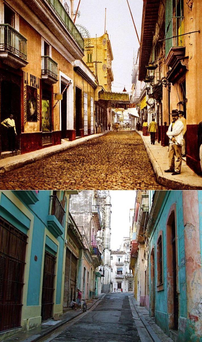 Popüler kentlerin inanılmaz öncesi ve sonrası resimleri Havana