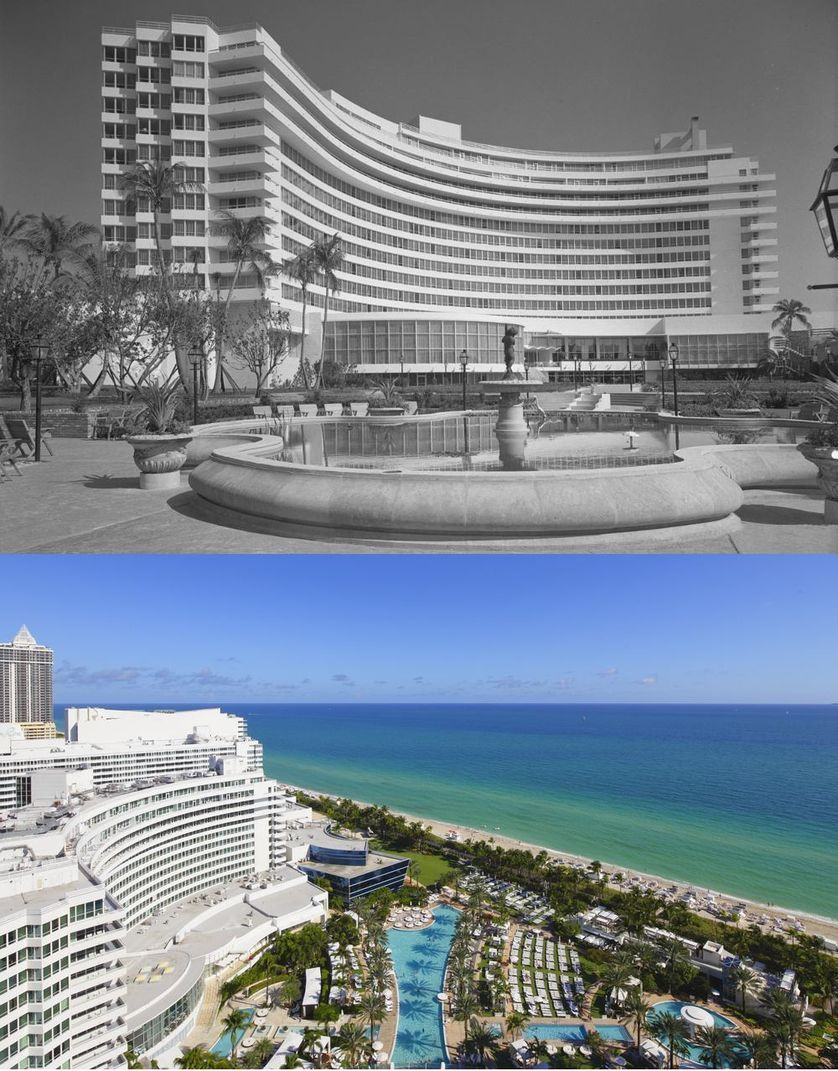 Popüler kentlerin inanılmaz öncesi ve sonrası resimleri Miami