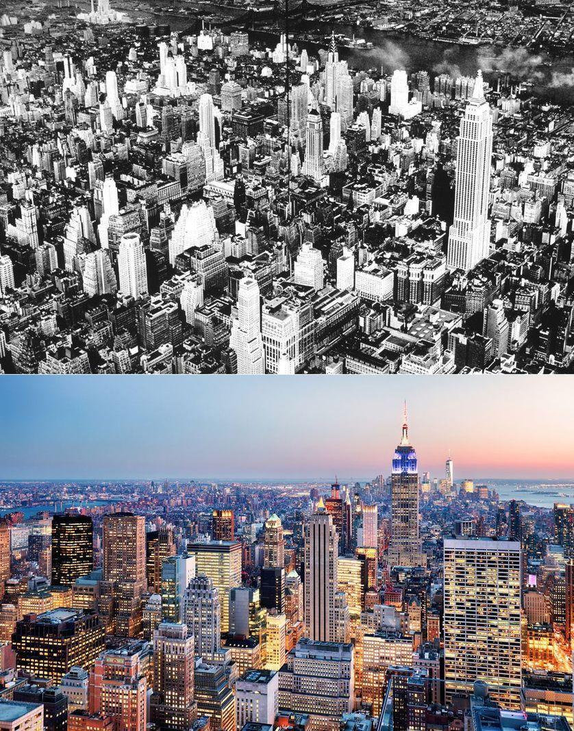 Popüler kentlerin inanılmaz öncesi ve sonrası resimleri NYC