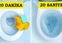 Evinizi Birkaç Dakikada Temizlemenizi Sağlayacak 15 Çok Etkili Teknik
