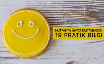Mutfakta hayat kurtaracak 19 pratik bilgi