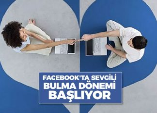 Artık Facebook'ta Sevgili Bulma Dönemi Başlıyor!..