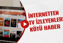 İnternetten TV izleyenlere kötü haber!..