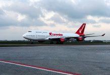 Otelin Bahçesinde Boeing 747 jumbo jet tipi dev uçak!.
